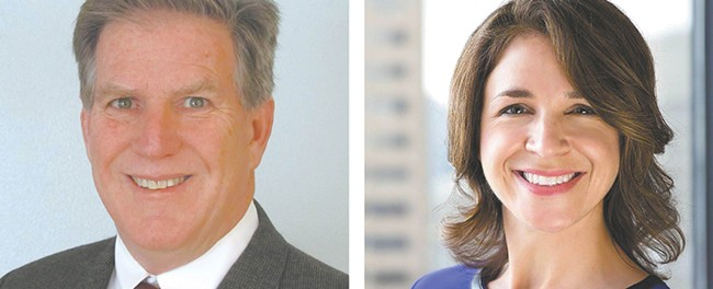 Steve McLaughlin and Hilary Franz have taken very different paths in life. Both are hoping those paths will lead to a job as commissioner of public lands in November.