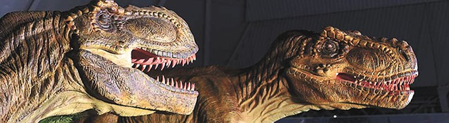 Jurassic Quest employs a paleontologist to ensure the exhibits are realistic.