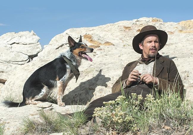 Ethan Hawke plays cowboy, again.
