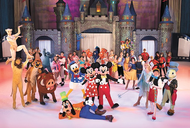 Disney on Ice: Worlds of Enchantment brings the whole crew to the ice.