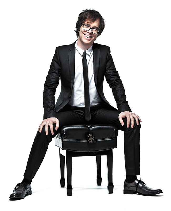 Ben Folds will hold a piano master class for a few lucky souls before his Knitting Factory show Saturday.