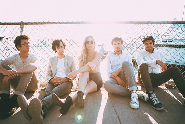 Ra Ra Riot returns to Spokane after a seven-year absence. - NICOLE BUSCH