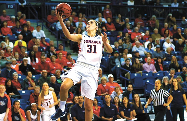 Elle Tinkle's medical redshirt gives her another chance to lead the Zags.