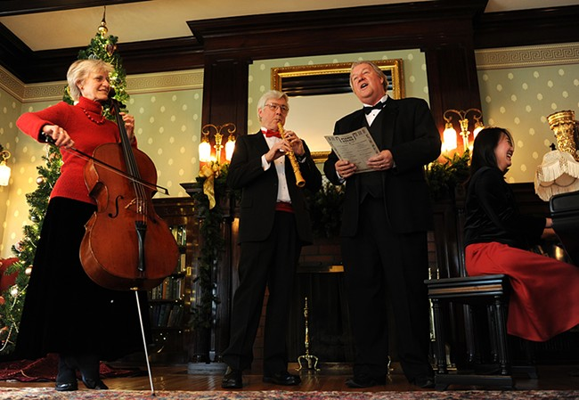 Hear classic Christmas music in an historic South Hill home Dec. 7-8.