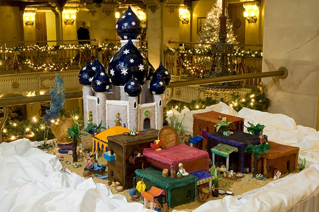 Chris Kitchen's annual Gingerbread Build-off on Dec. 11 is one sweet holiday tradition not to miss.