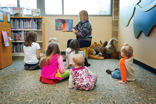 Play and Learn Storytime gives literacy a jump start.
