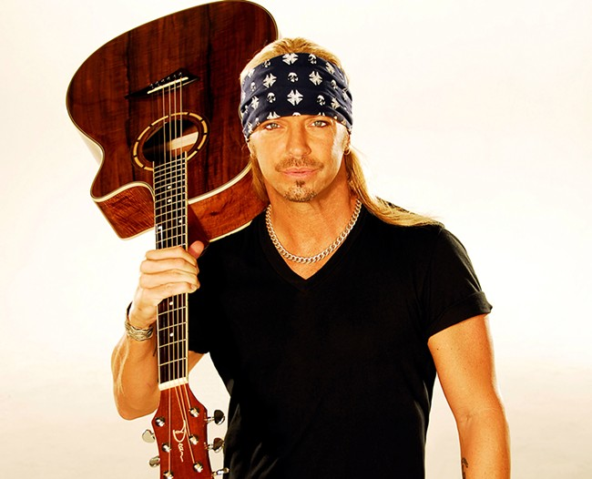 Spend your Christmas season with Mr. Bret Michaels, as is probably your tradition.