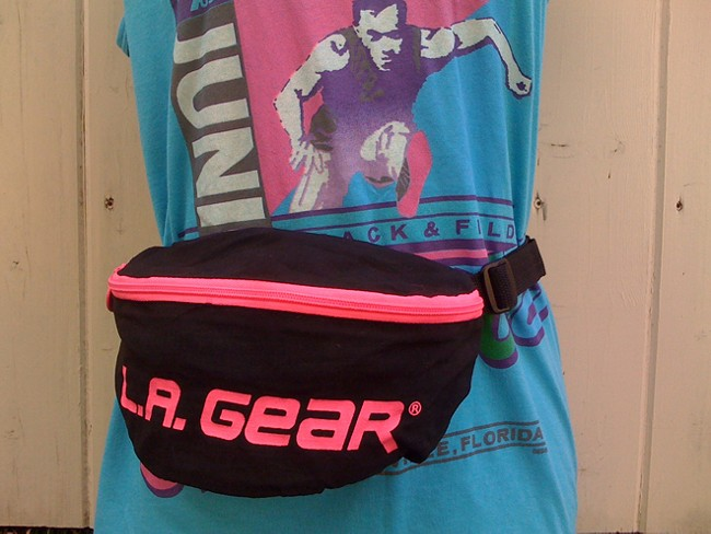 Fanny packs are back. L.A. Gear? Not so much.