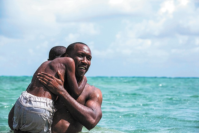 Moonlight takes us through a young man's life in three stages.