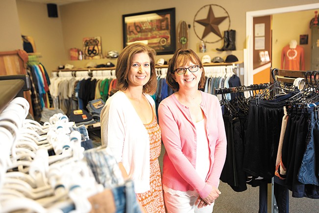 Teen Closet co-directors Robyn Nance (left) and Linda Rogers. - YOUNG KWAK