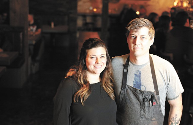 Kate and Jeremy Hansen have been at the forefront of Spokane's culinary boom. - YOUNG KWAK