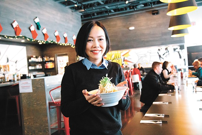 Nudo owner Jingou Hissong took the concept of her successful downtown restaurant to the Northside. - JENNIFER DEBARROS