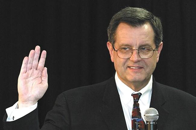 Former Spokane Mayor Jim West