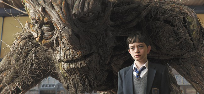 Lewis MacDougall delivers a breakout performance as a boy who suddenly encounters a monster.