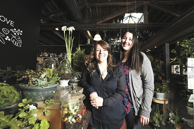 Parrish & Grove owners Chelsea Updegrove, left, and Amanda Parrish. - YOUNG KWAK