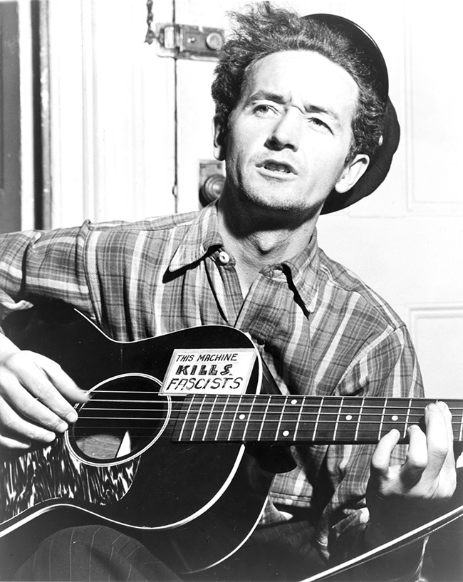 Woody Guthrie's Pacific Northwest songs are the subject of a new Smithsonian set of recordings.