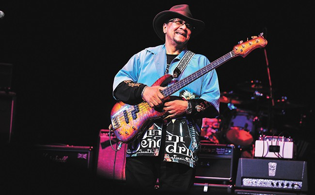 Billy Cox, legendary bassist from Jimi Hendrix's Band Of Gypsys.