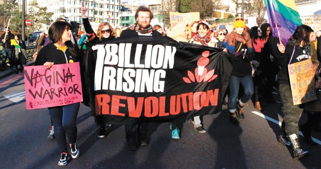 One Billion Rising is a global movement fighting violence against women and girls.