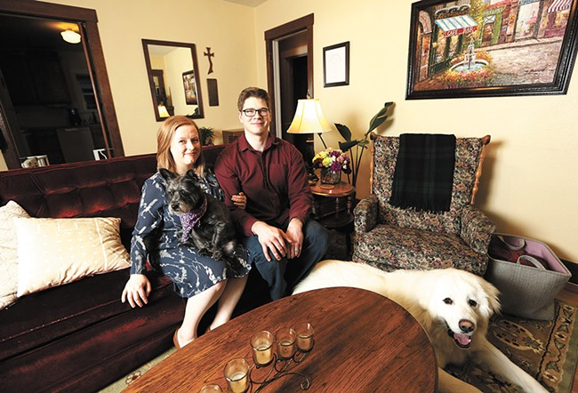 Caitlin Richardson and her husband, John McCormack, use money from Airbnb to pay down the mortgage on their new house. - YOUNG KWAK