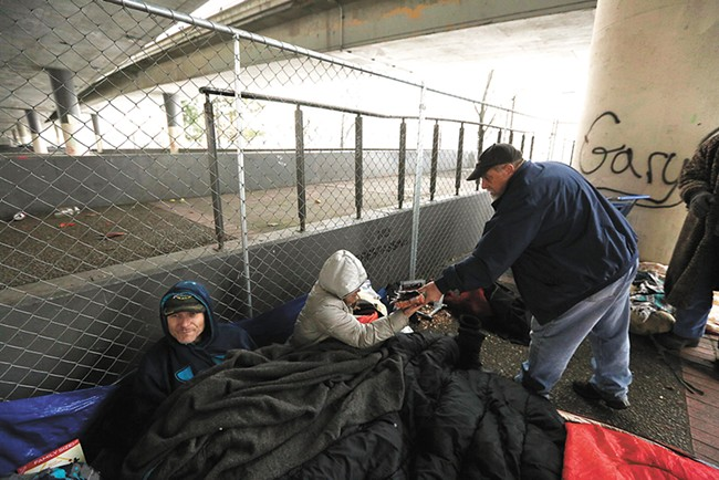 Learn more about Spokane's homeless this week. - YOUNG KWAK