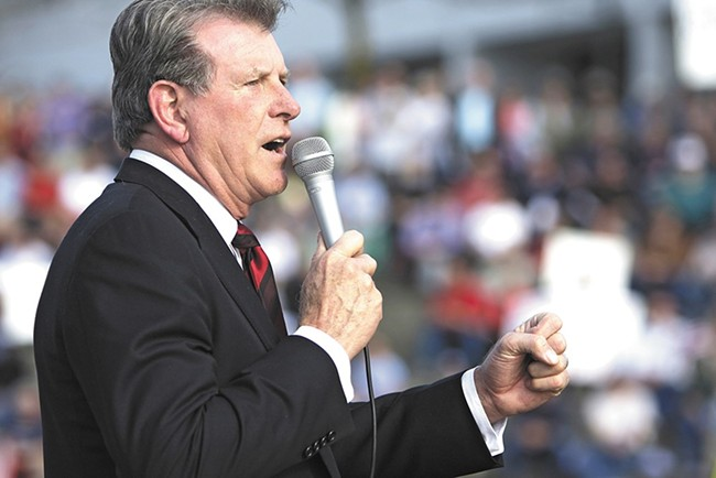 Idaho Gov. Butch Otter has to decide whether to veto a grocery-tax repeal.