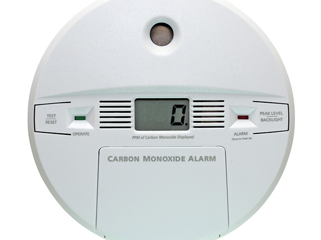 There are a variety of carbon - monoxide detectors on the market.