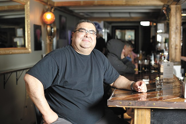 T's Lounge owner Roger Villareal - YOUNG KWAK