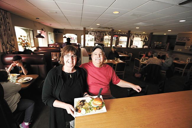 Shirley and Jack Williams, right, have owned Charley's for nearly 40 years. - YOUNG KWAK