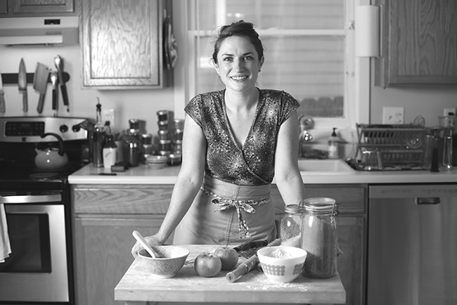 Author and baker Kate Lebo is one of the ringleaders of Pie & Whiskey, this year taking place at the Washington Cracker Co. Building.