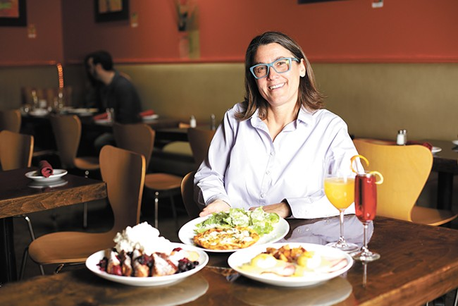 Italia Trattoria co-owner Bethe Bowman advises making some Easter brunch dishes in advance, like fritattas. - YOUNG KWAK