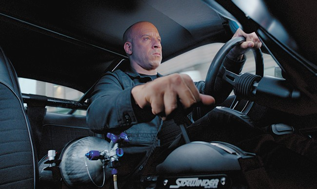 Vin Diesel steers the franchise into way too many genres in the latest Furious flick.