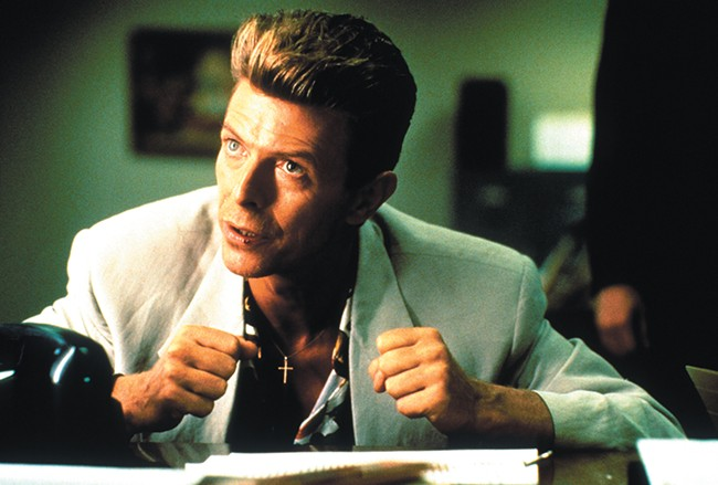 David Bowie turns out to be just as confused as we are.