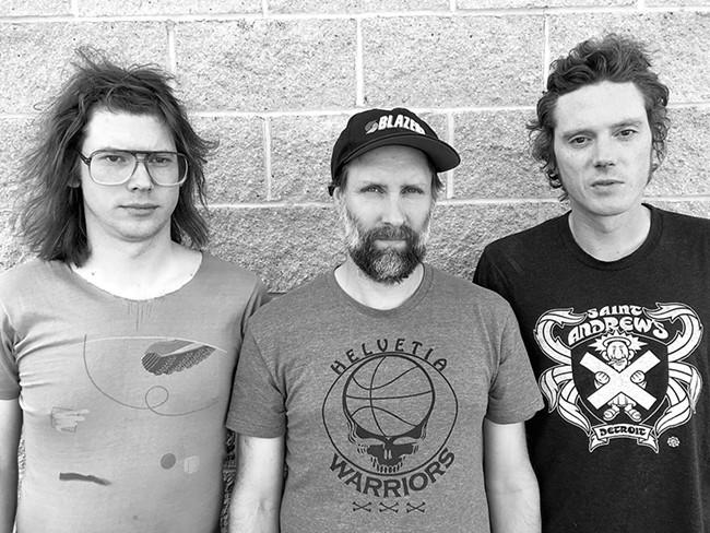 Built to Spill (left to right): Steve Gere, Doug Martsch and Jason Albertini.