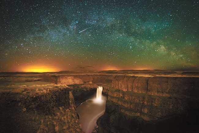 Some of the work featured in this year's ArtFest: Craig Goodwin, Palouse Falls Milky Way Arch (photograph)