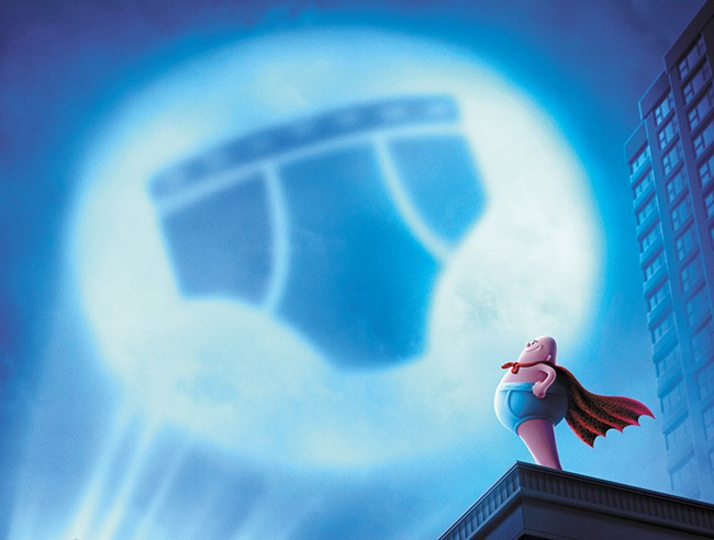 Captain Underpants comes to the big screen. He probably didn't need to.