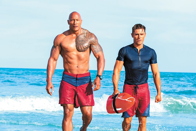 The Baywatch movie is the cinematic equivalent of a nasty sunburn.