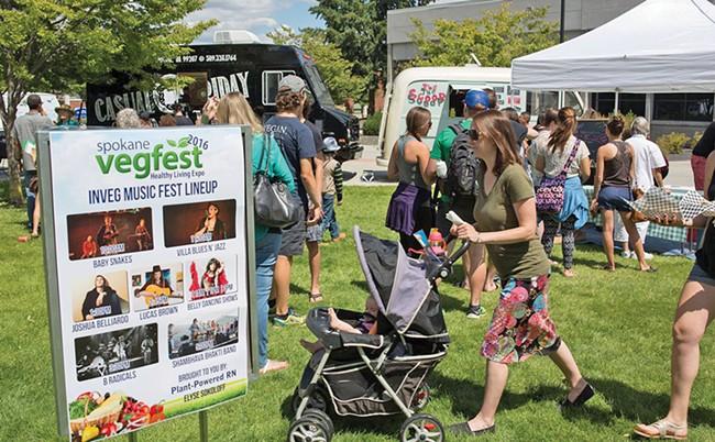 Spokane Vegfest returns in July.