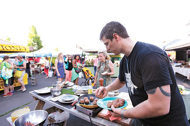 The Perry Street Thursday Market will host a food truck rally on June 22. - YOUNG KWAK