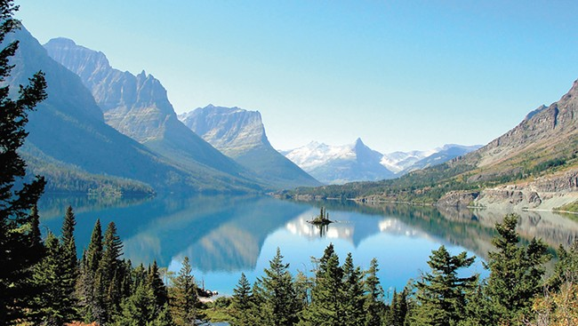 Consider Glacier National Park's lesser-visited but still-beautiful areas like Bowman or Kintla lakes.