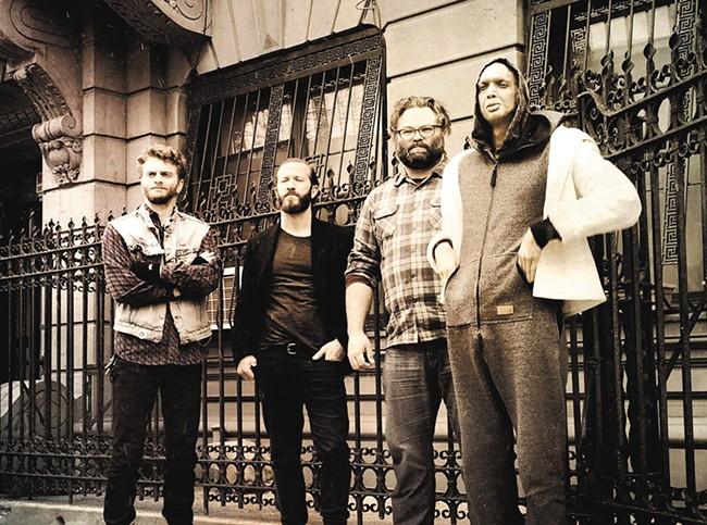 Instrumental quartet Ex Eye hits the Bartlett on Wednesday.