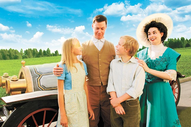 Catch Chitty Chitty Bang Bang at Coeur d'Alene Summer Theatre through July 2.