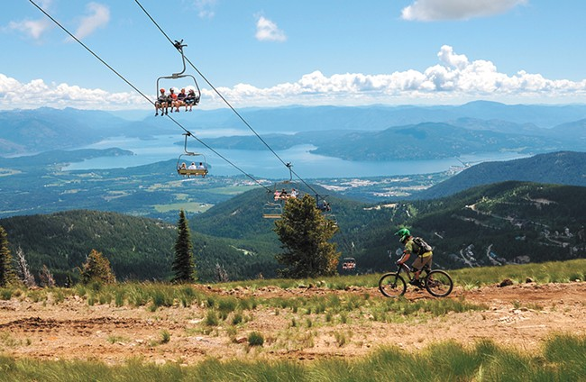 The perfect day in Sandpoint involves a trip to Schweitzer. - SCHWEITZER MOUNTAIN RESORT PHOTO