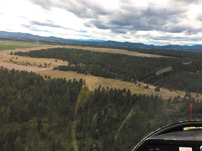 The view just beyond Deer Park Airport, about 4,000 feet above the ground. - MITCH RYALS
