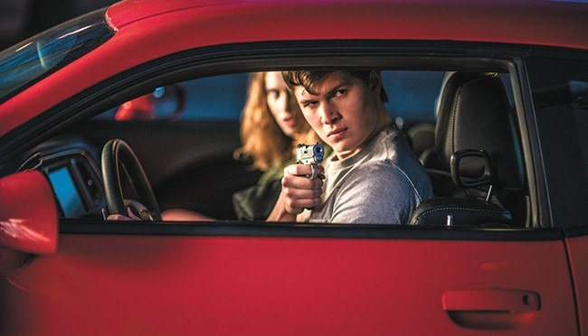 Baby Driver never lets its foot off the gas.