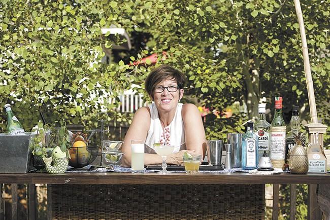 Local cocktail expert Renee Cebula suggests serving the classic Hemingway Daiquiri. - YOUNG KWAK