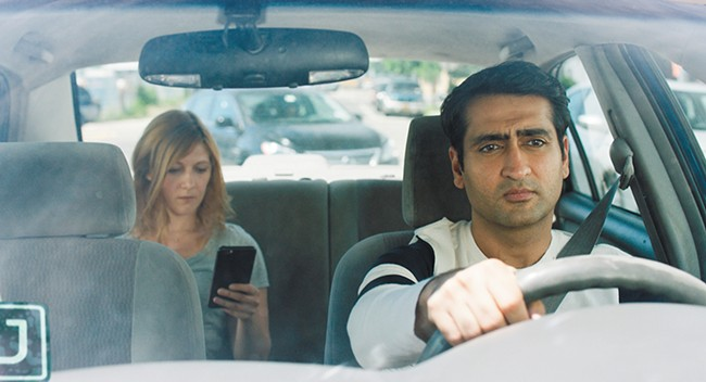 Kumail Nanjiani stars in (and co-wrote) the autobiographical rom-com The Big Sick.