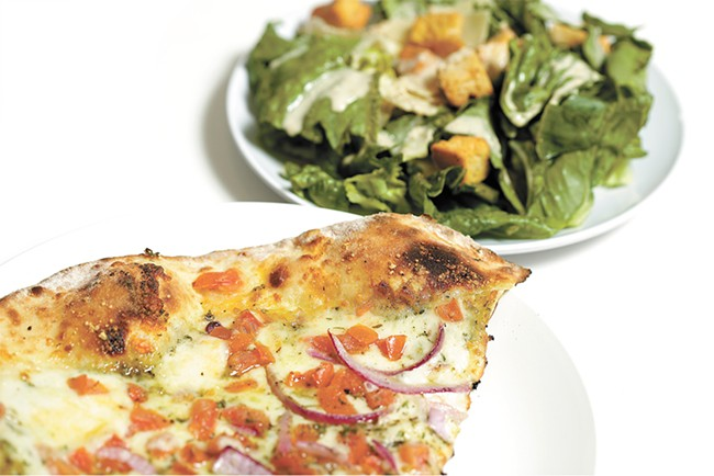 Grab a quick slice and salad at Veraci in Kendall Yards. - YOUNG KWAK