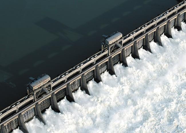 Bonneville Dam is the last of eight dams that Snake River salmon pass on their way to sea. - ERIC PRADO