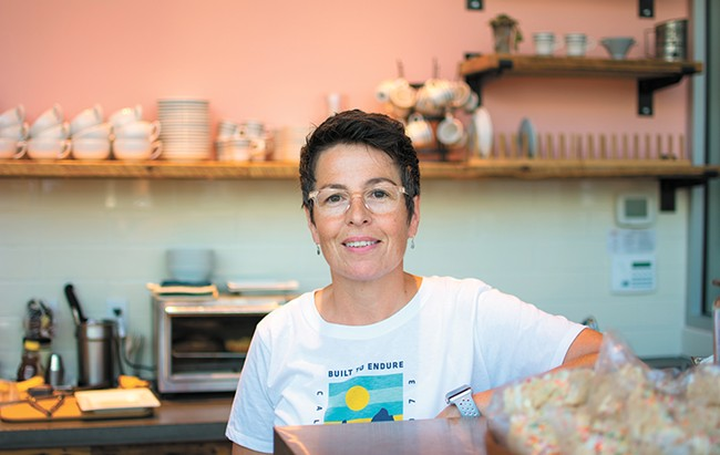 Gina Garcia brings her baking prowess to Kendall Yards. - STUART DANFORD