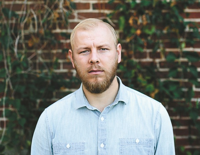 Spokane native Joel Ansett returns to the Bartlett on Friday. - ZACK WILSON